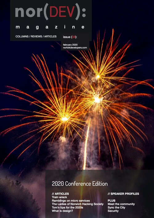The front cover of February 2020 Conference Edition